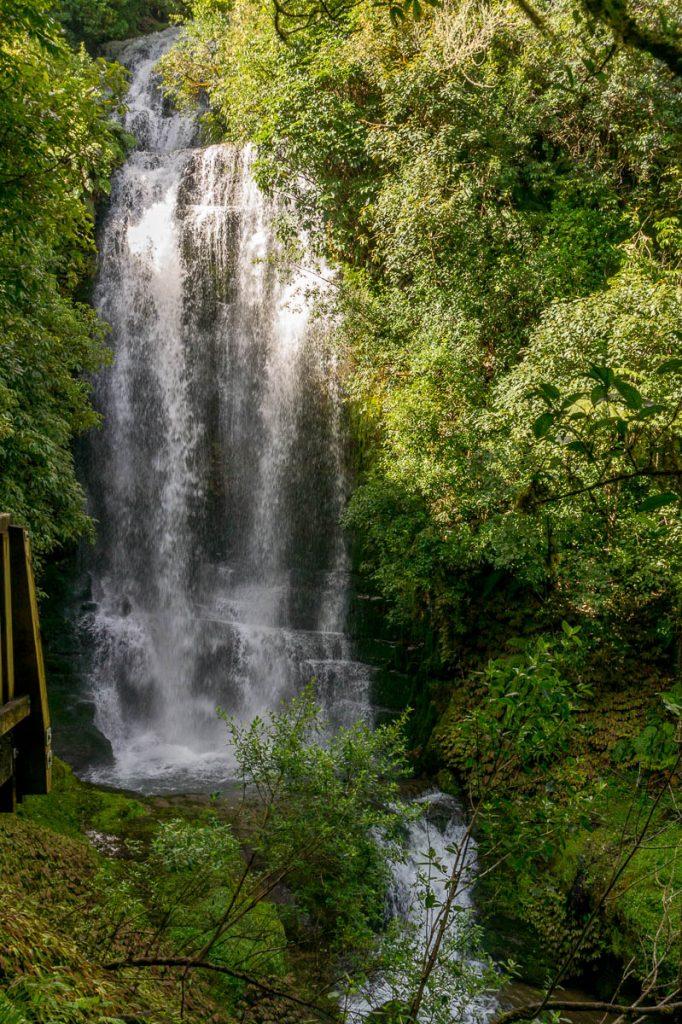 Waitanguru Falls,Waitanguru Falls, Pio Pio, Waikato, Nieuw Zeeland (2012)