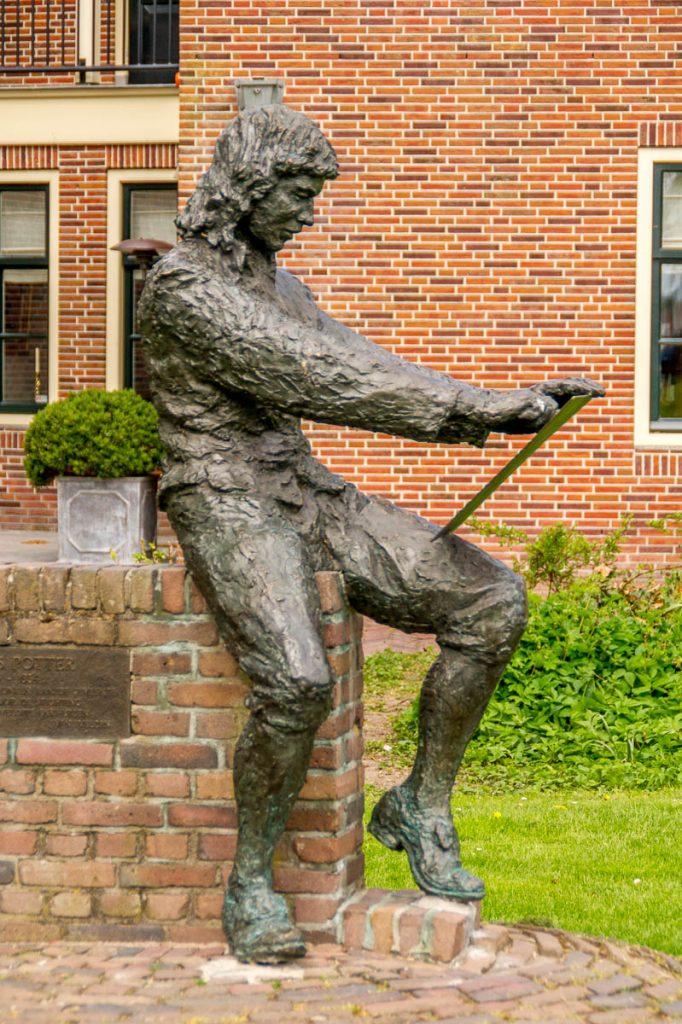 Paulus Potter (Jan van Velzen, 1991),Enkhuizen, Noord-Holland (2013)