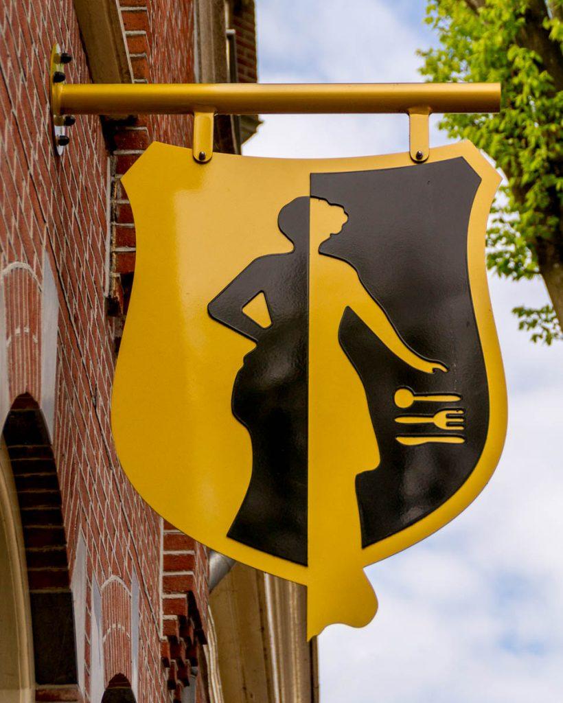 Geel met zwart,Enkhuizen, Noord-Holland (2013)