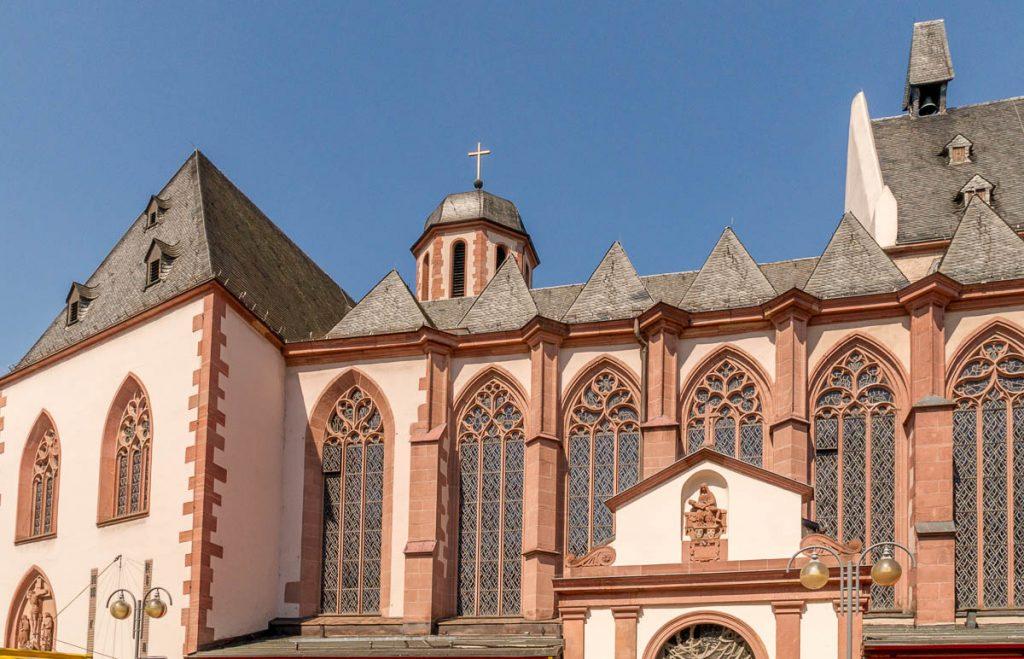 Liebfrauenkirche,Frankfurt, Hessen, Duitsland (2013)