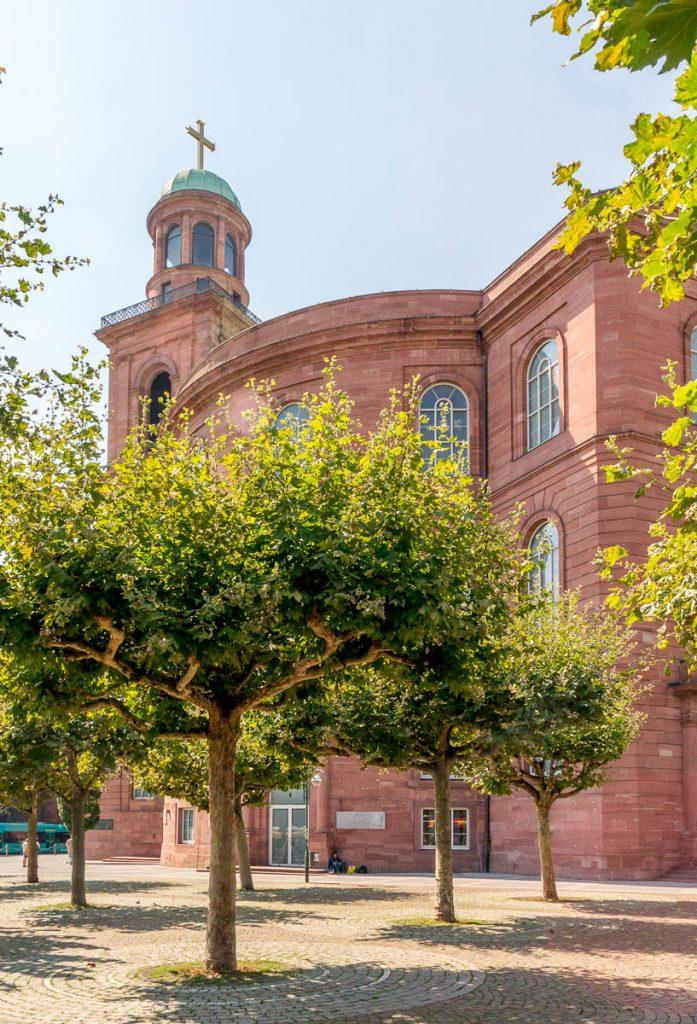 St. Paul's Church,Frankfurt, Hessen, Duitsland (2013)