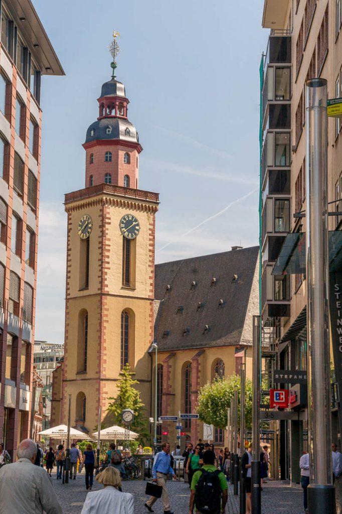 Katharinenkirche,Frankfurt, Hessen, Duitsland (2013)