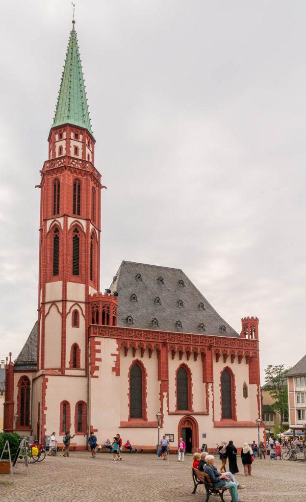 Alte Nikolaikirche,Römerberg Platz, Frankfurt, Hessen, Duitsland (2013)