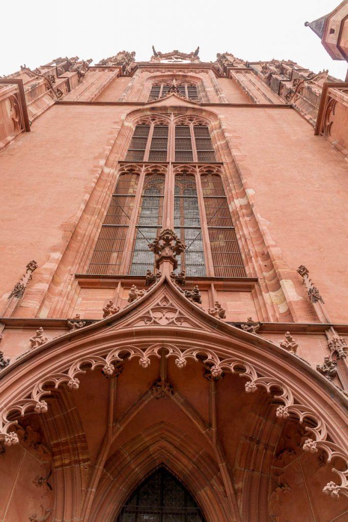 Dom St. Bartholomäus Turm,Dom St. Bartholomäus, Frankfurt, Hessen, Duitsland (2013)
