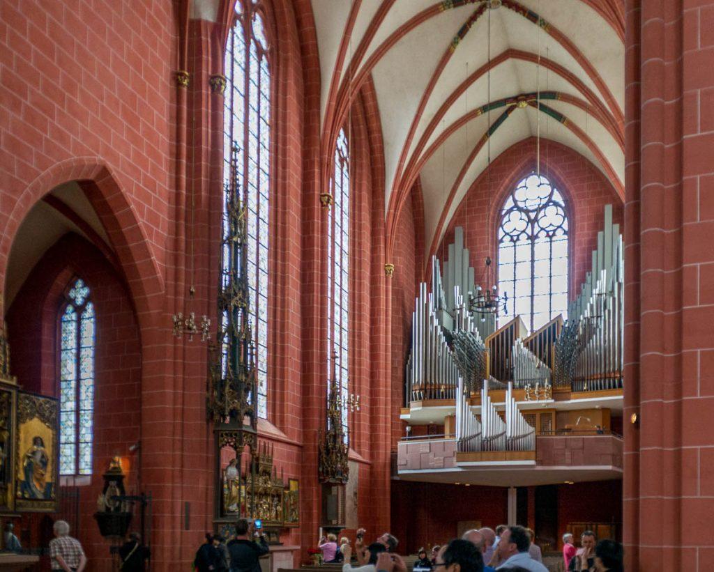 Orgel,Dom St. Bartholomäus, Frankfurt, Hessen, Duitsland (2013)