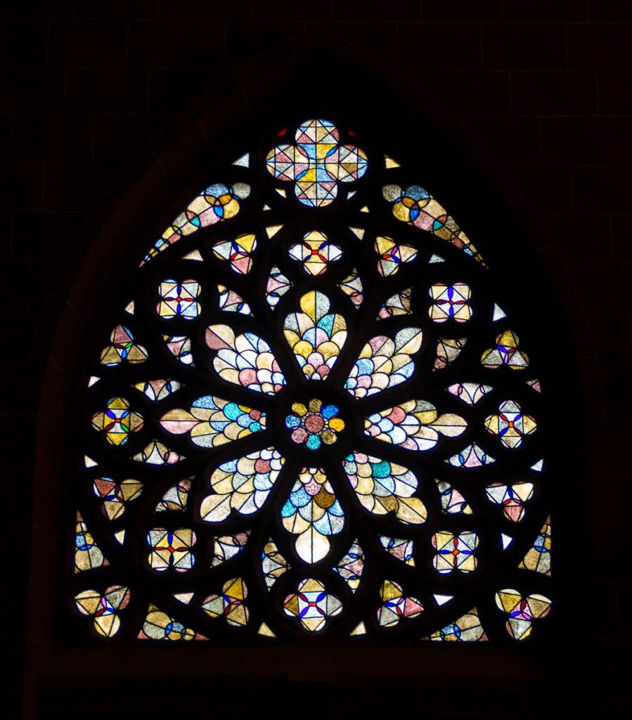 Glas in lood,Dom St. Bartholomäus, Frankfurt, Hessen, Duitsland (2013)