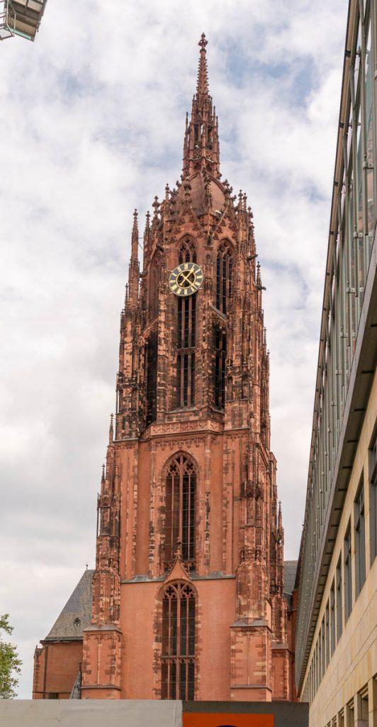 Dom St. Bartholomäus Turm,Frankfurt, Hessen, Duitsland (2013)