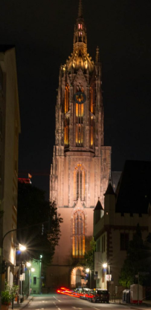 St. Bartholomäus tower,Frankfurt, Hessen, Duitsland (2013)