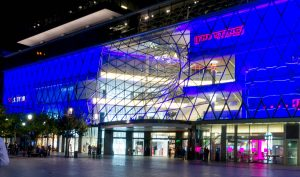 Gevel van MyZeil shopping mall