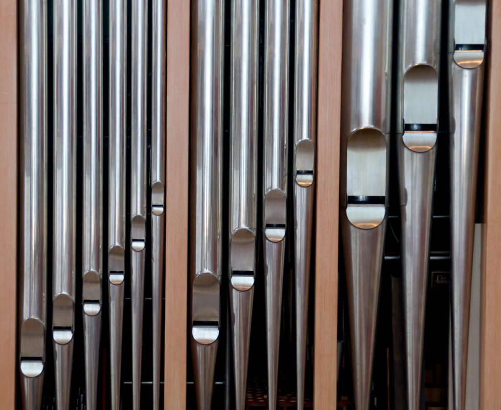 Orgel,Michaeliskirche, Hildesheim, Nedersaksen, Duitsland (2013)