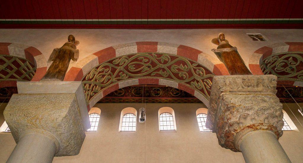 Boog,Michaeliskirche, Hildesheim, Nedersaksen, Duitsland (2013)