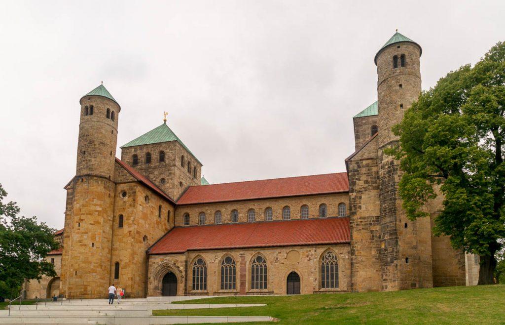 Michaeliskirche,Michaeliskirche, Hildesheim, Nedersaksen, Duitsland (2013)