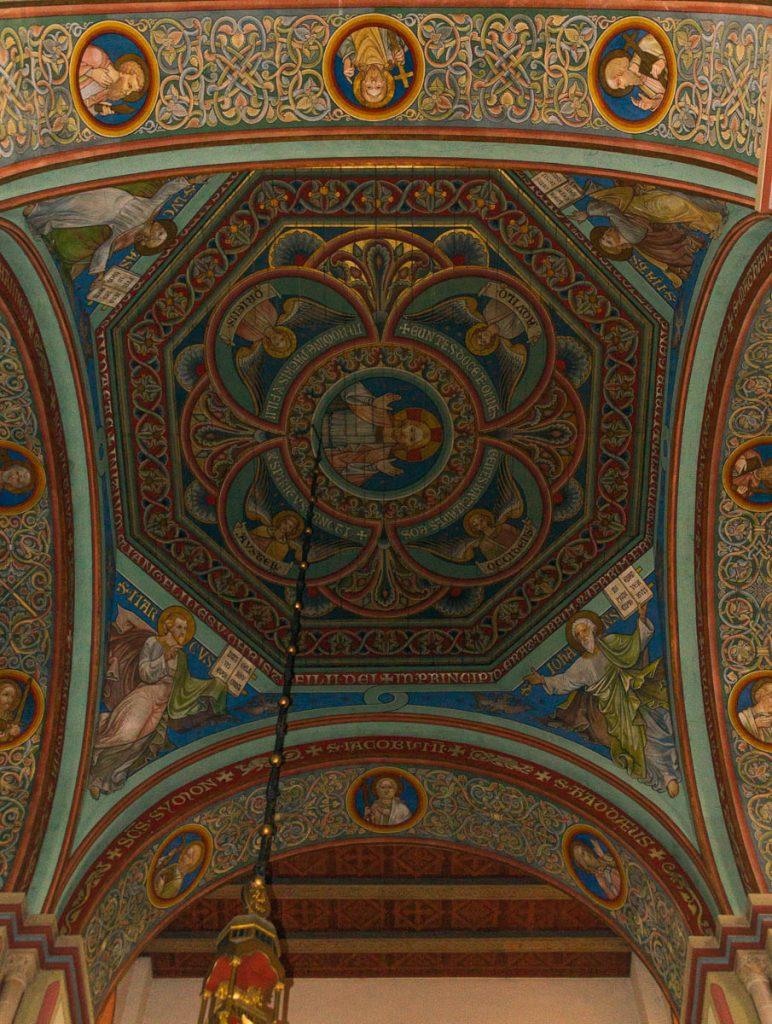 Plafond,Basilika St. Godehard, Hildesheim, Nedersaksen, Duitsland (2013)