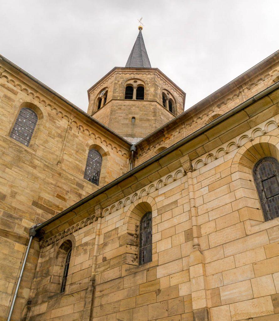 Basilika St. Godehard,Basilika St. Godehard, Hildesheim, Nedersaksen, Duitsland (2013)