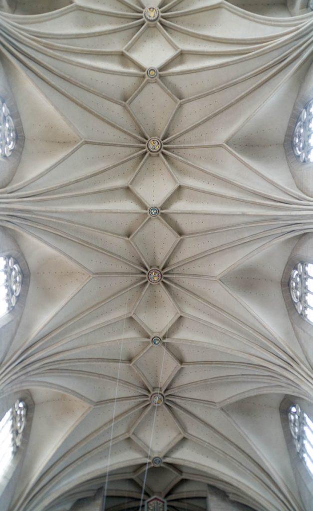 Plafond,Andreaskirche, Hildesheim, Nedersaksen, Duitsland (2013)