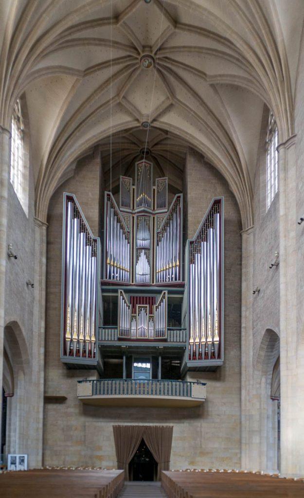 Orgel,Andreaskirche, Hildesheim, Nedersaksen, Duitsland (2013)