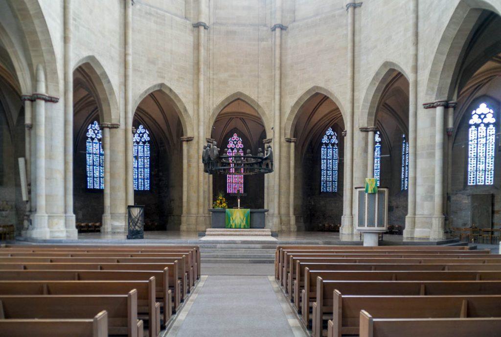 Andreaskirche,Andreaskirche, Hildesheim, Nedersaksen, Duitsland (2013)