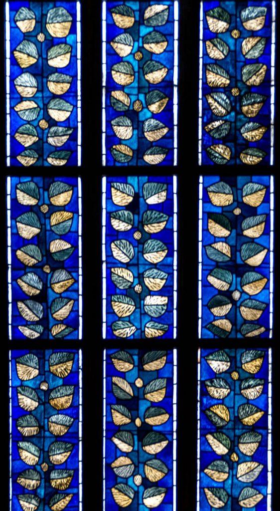 Glas in lood,Andreaskirche, Hildesheim, Nedersaksen, Duitsland (2013)