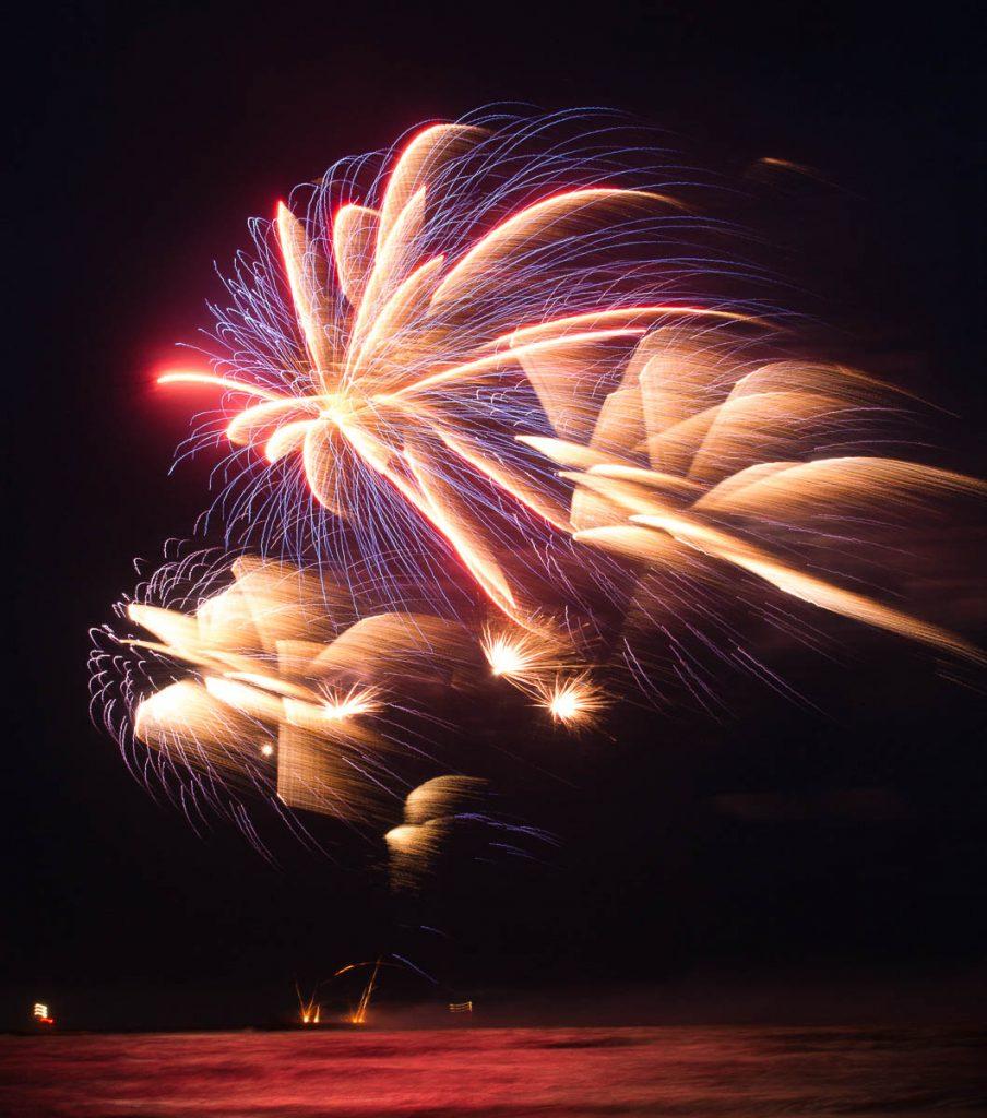 Vuurwerkshow Engeland,Scheveningen Noorderstrand, Den Haag, Zuid-Holland (2014)