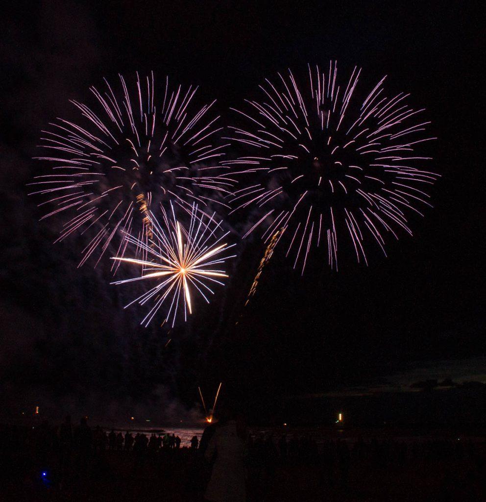 Vuurwerkshow Japan,Scheveningen Noorderstrand, Den Haag, Zuid-Holland (2014)