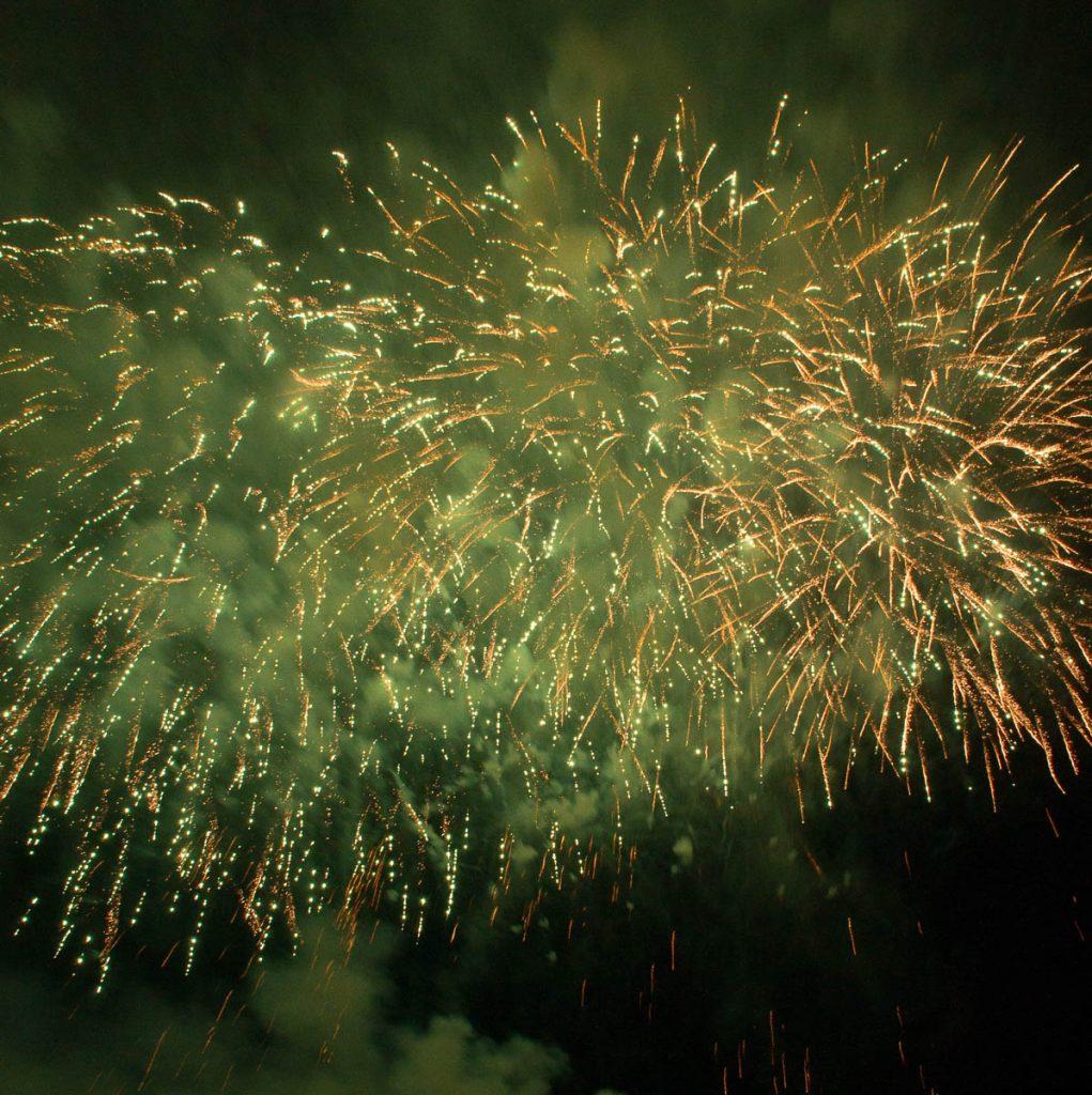 Vuurwerkshow China,Scheveningen Noorderstrand, Den Haag, Zuid-Holland (2014)