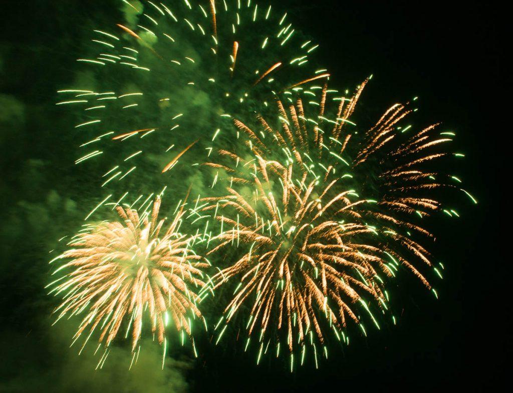 Vuurwerkshow Spanje,Scheveningen Noorderstrand, Den Haag, Zuid-Holland (2014)