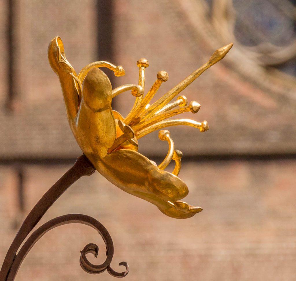 Gouden bloem,Binnenhof, Den Haag, Zuid-Holland (2014)