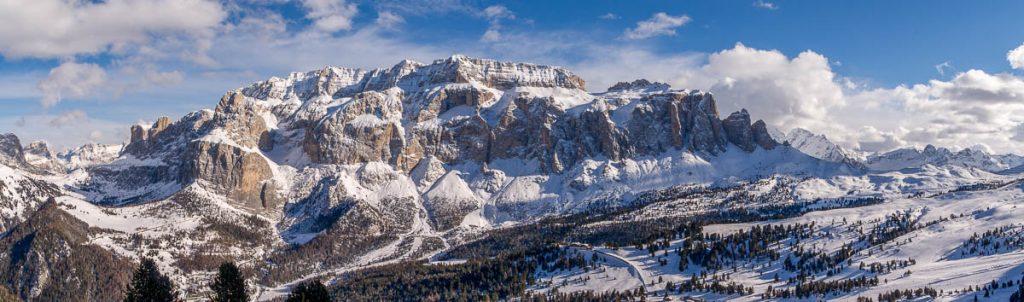 Panorama,Sëlva, Alto Adige, Italië (2015)