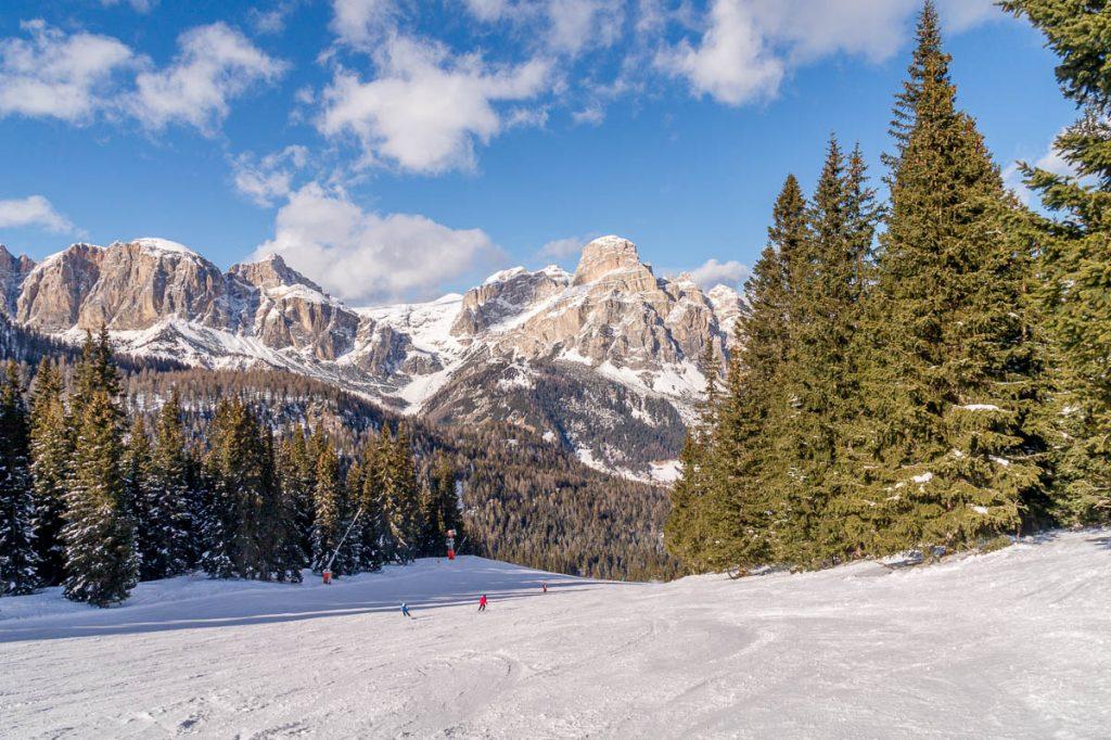 Wat een uitzicht!,Corvara, Alto Adige, Italië (2015)