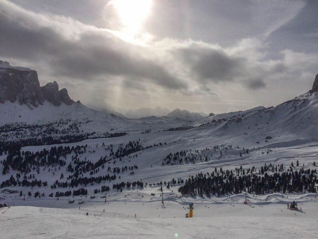 Volgens mij krijgen we sneeuw,Sëlva, Alto Adige, Italië (2015)