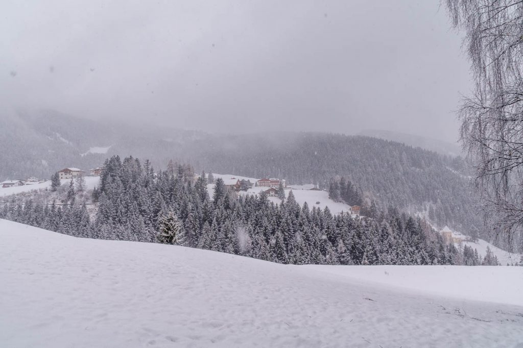 Sneeuw!!,Santa Cristina, Alto Adige, Italië (2015)