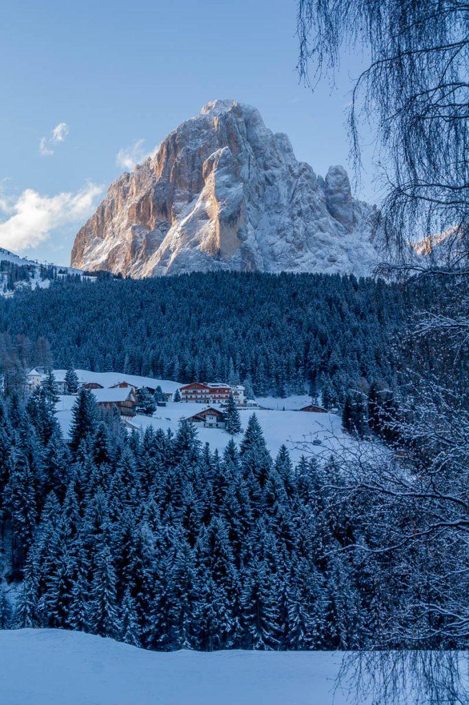 Ochtendgloren,Santa Cristina, Alto Adige, Italië (2015)