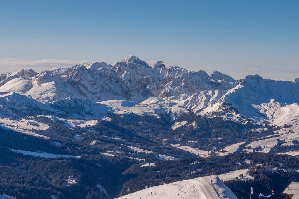 Prachtig uitzicht,Santa Cristina, Alto Adige, Italië (2015)