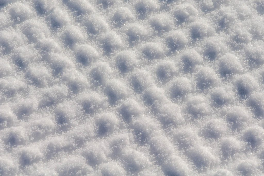 Patronen in de sneeuw,Santa Cristina, Alto Adige, Italië (2015)