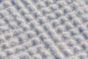 Patroon in de sneeuw