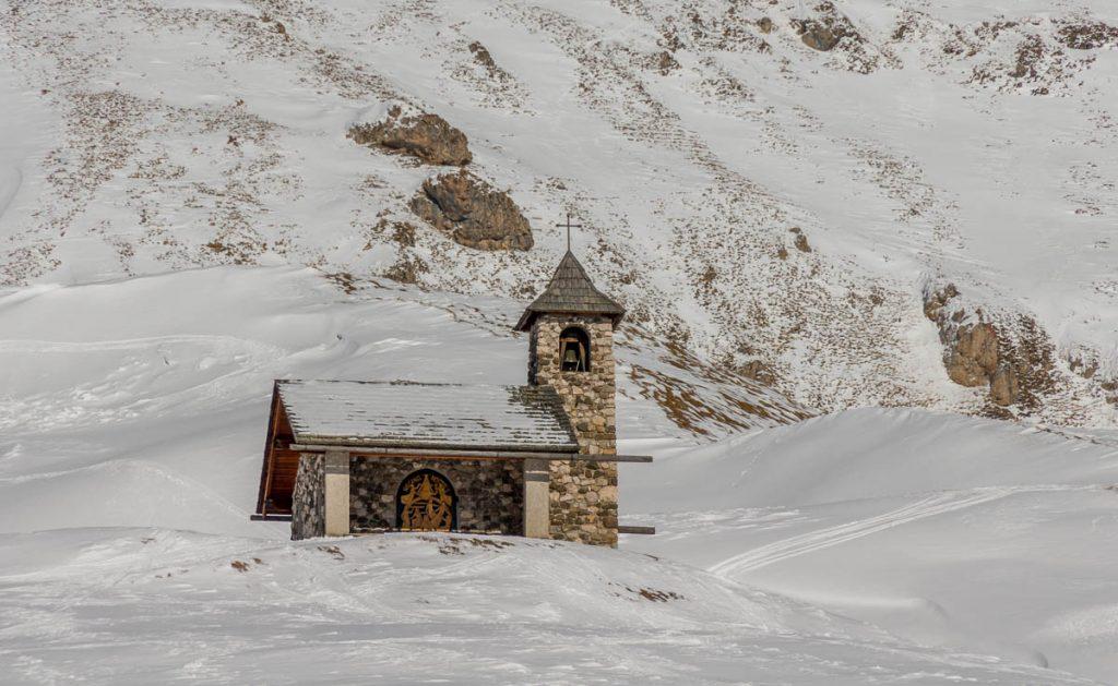 Kerkje,Santa Cristina, Alto Adige, Italië (2015)