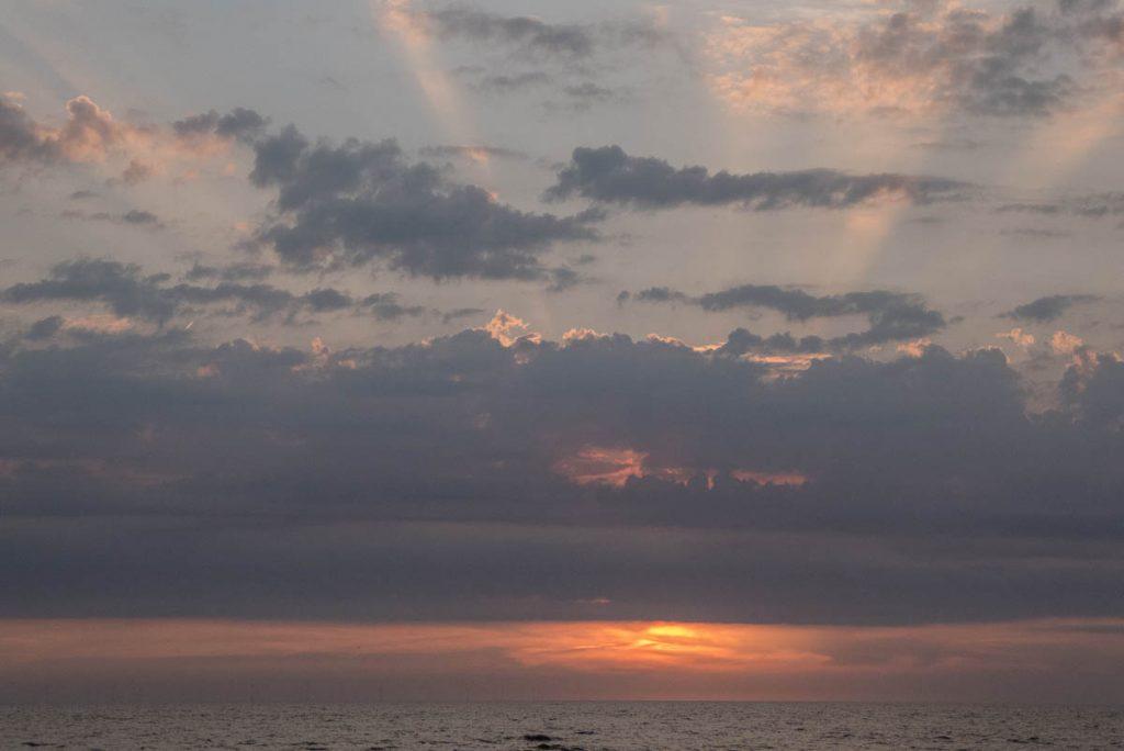 Zonsondergang,Castricum aan Zee, Noord-Holland (2015)
