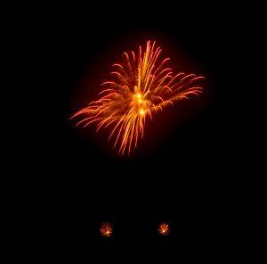 Vuurwerkshow Duitsland