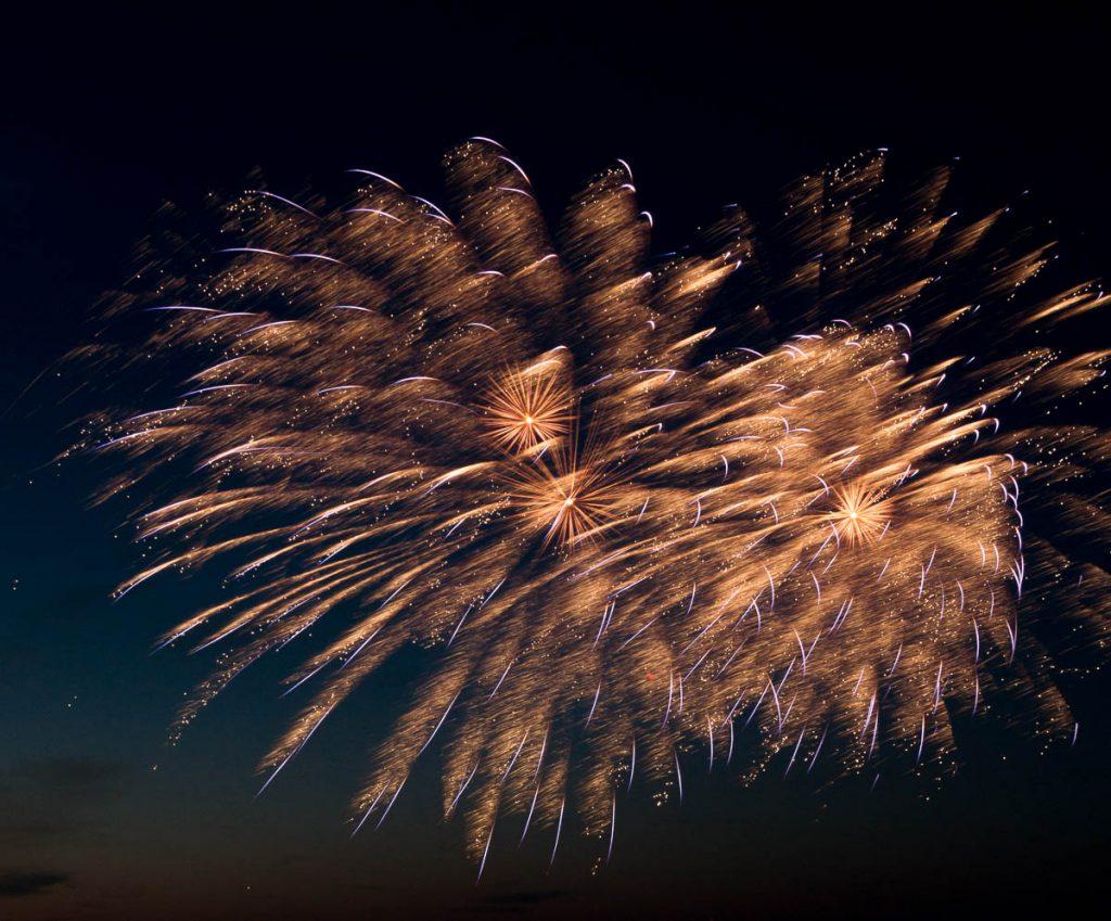 Vuurwerkshow China,Scheveningen Noorderstrand, Den Haag, Zuid-Holland (2015)