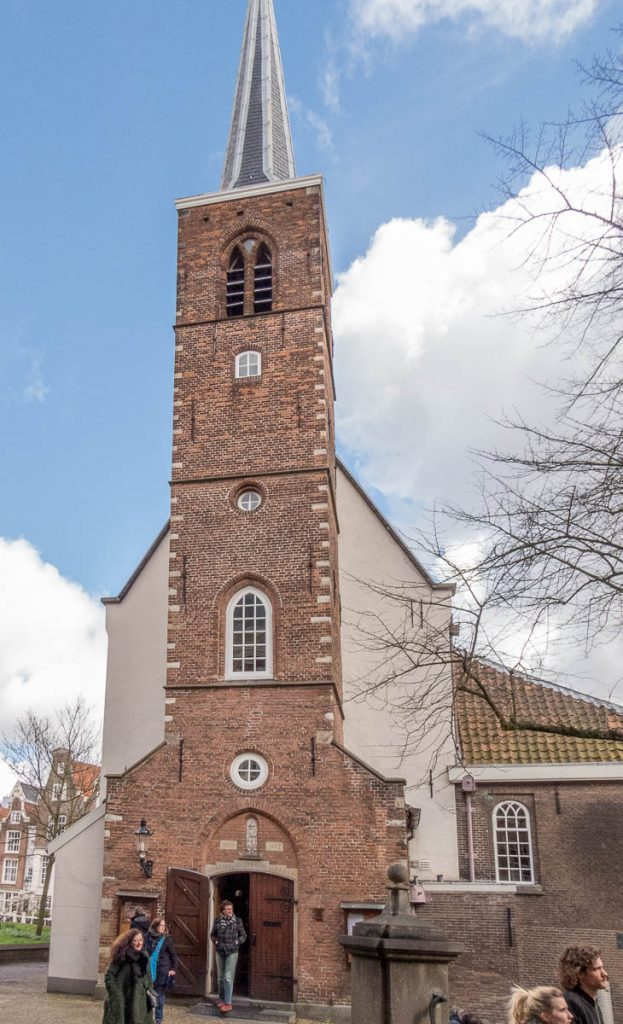 Engelse Kerk,Begijnhof, Amsterdam, Noord-Holland (2016)