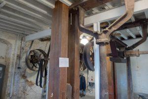 Het binnenwerk van een molen