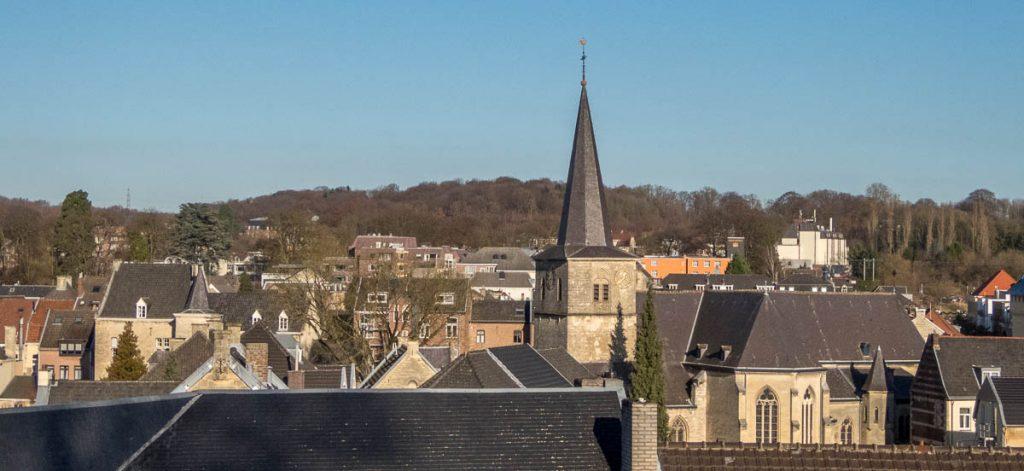Uitzicht over Valkenburg,Kasteel-Ruïne, Valkenburg, Limburg (2016)