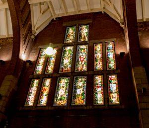Glas in Lood op het station van Maastricht