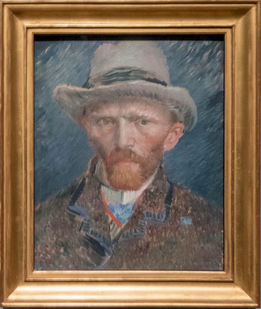 Zelfportret (Vincent van Gogh, 1887),Rijksmuseum, Amsterdam, Noord-Holland (2016)