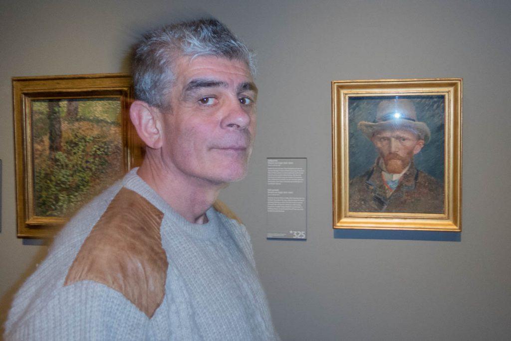 Stephen en Van Gogh,Rijksmuseum, Amsterdam, Noord-Holland (2016)