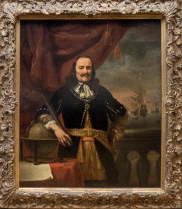 Michiel de Ruyter als luitenant-Admiraal (Ferdinand Bol, 1667)
