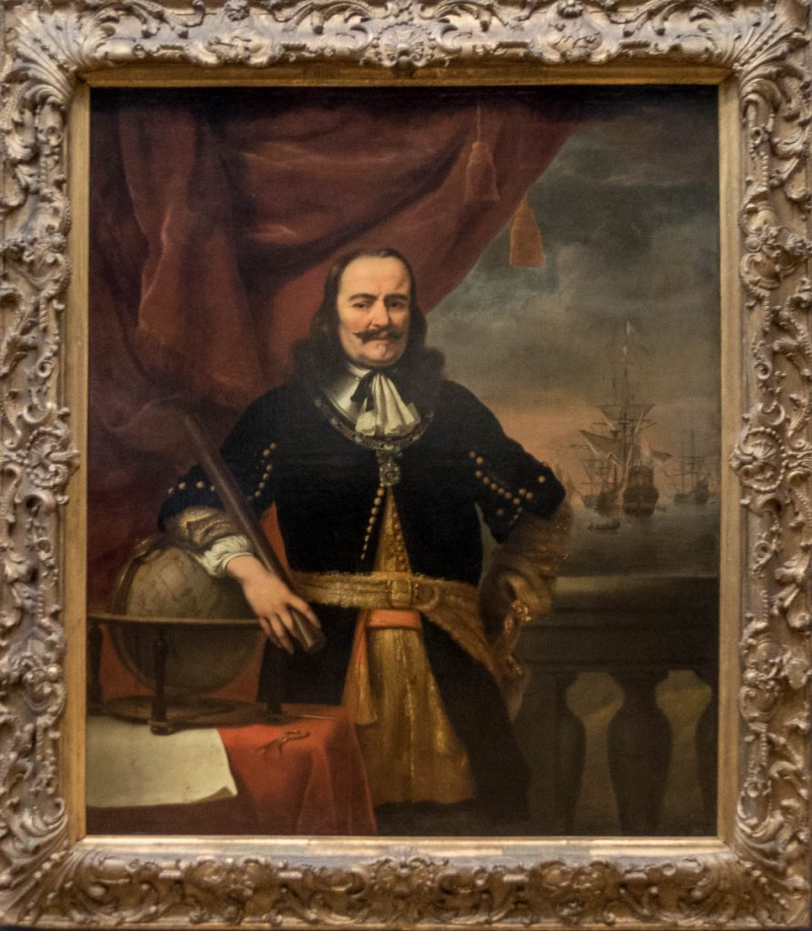 Michiel de Ruyter als Luitenant-admiraal (Ferdinand Bol, 1667),Rijksmuseum, Amsterdam, Noord-Holland (2016)