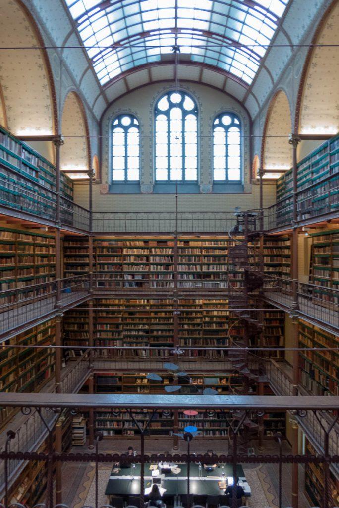 Bibliotheek,Rijksmuseum, Amsterdam, Noord-Holland (2016)