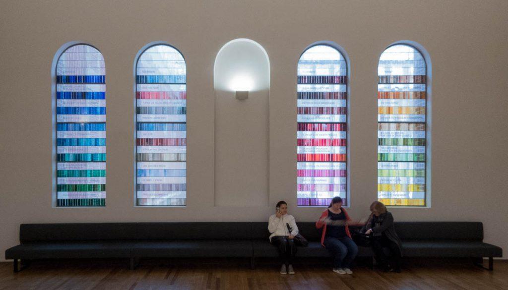 Gebrandschilderd glas,Rijksmuseum, Amsterdam, Noord-Holland (2016)