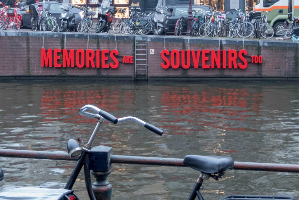 Memories are Souvenirs too,Herengracht, Amsterdam, Noord-Holland (2016)